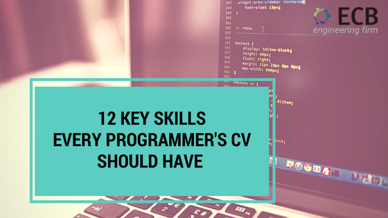 12 Key Skills to include in a Programmer\'s cv to get appealing ...