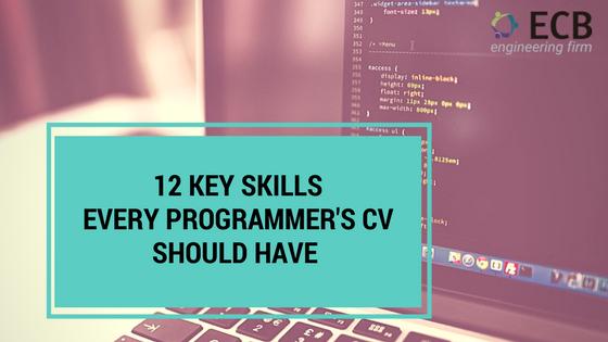 Banner_12_key_skills_programmer_cv